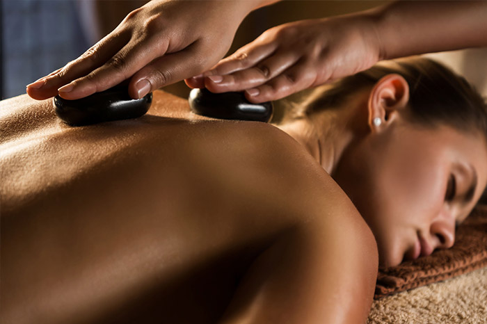 Hot Stone Massage Women