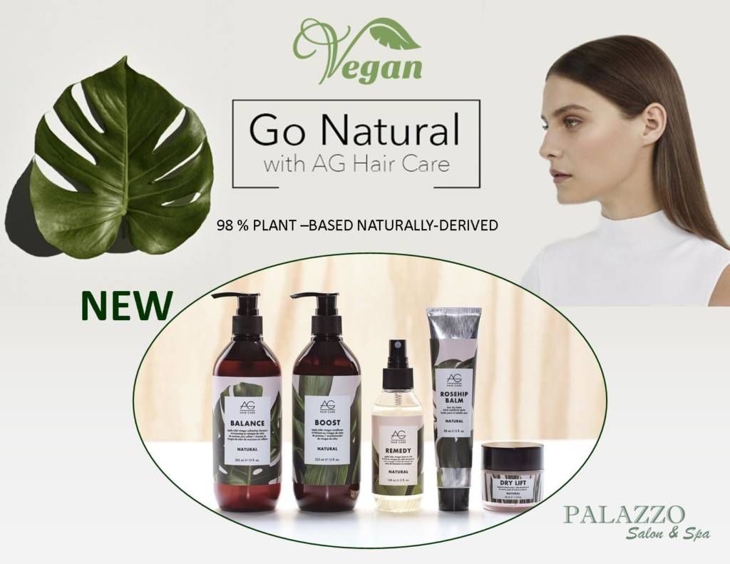 Go Natural with AG Hair Care