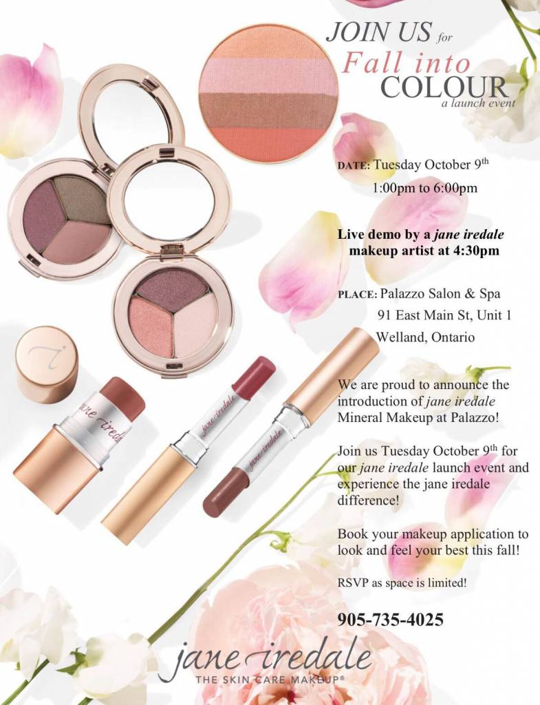 Jane Iredale Makeup Event