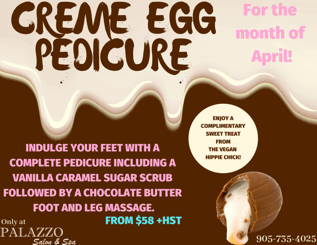 Creme Egg Pedicure!