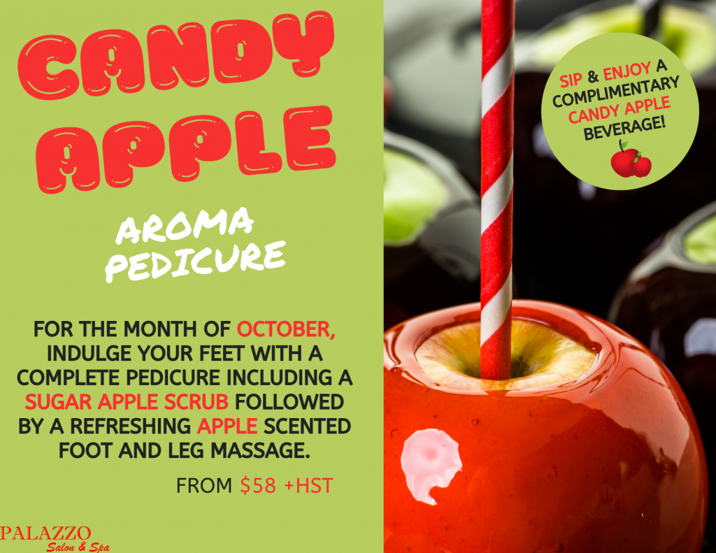 Candy Apple Aroma Pedicure