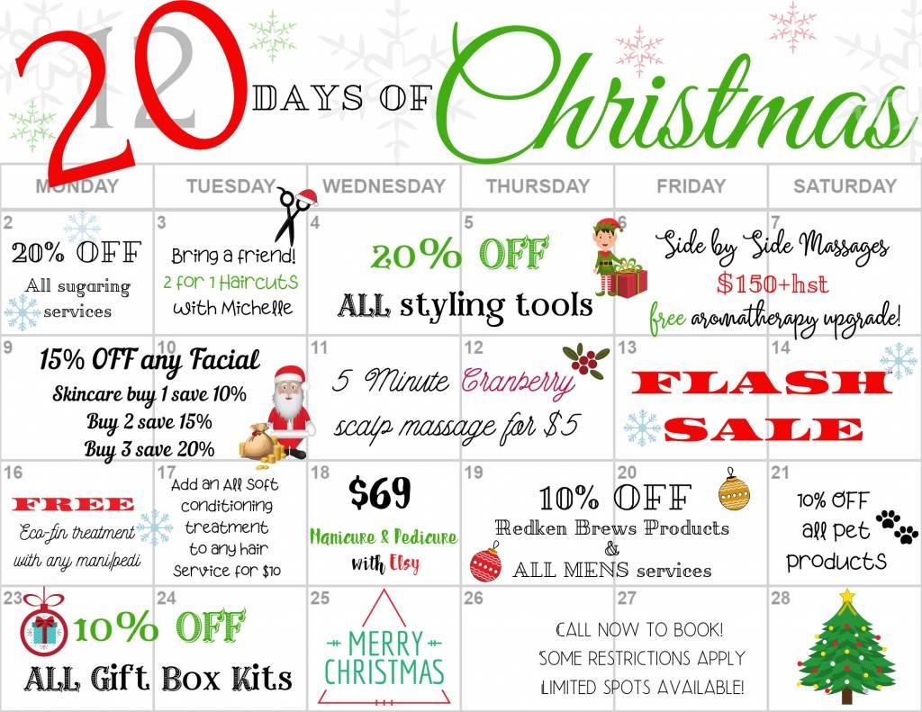 20 Days Of Christmas!
